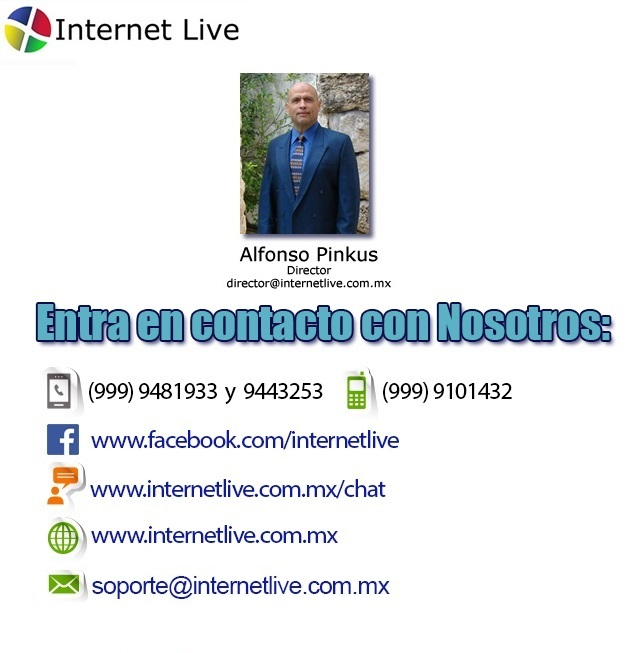 Contacto-InternetLive